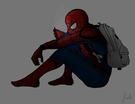 Spider-Man: Homecoming by isupposeishouldstudy