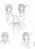 fellowship sketches 1 by elviella