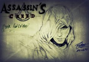 Altair ASSASSIN'S CREED by Raphael2D