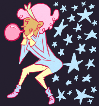 Stars and Bubblegum by kassie