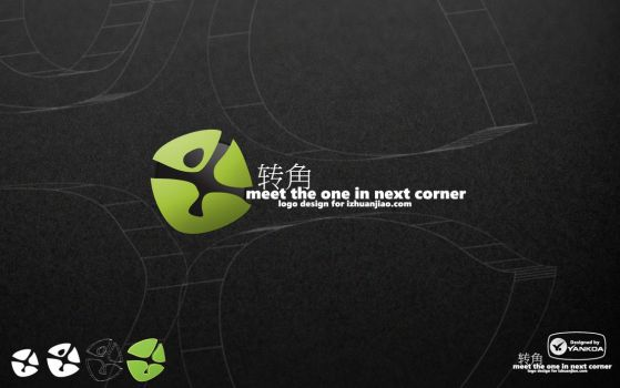Corner logo design by yankoa
