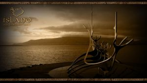 Island (Iceland) Wallpaper 2 by PlaysWithWolves