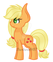 Applejack Grown Up by Starburst987