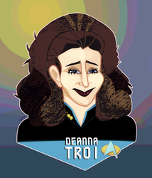 WoST: Deanna Troi by DarkwingSnark