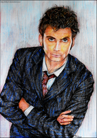 David Tennant as The Doctor by Trilly21