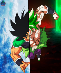 Broly Eyecatch Wallpaper by daimaoha5a4