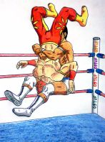 Lucha libre 7 by 09tuf