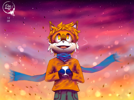 AT: The limit is the sky by DoriThief