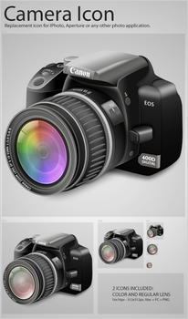Camera Icon by Flarup
