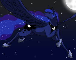 Princess of the Night by EmpressSpaceGoat