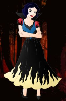 Evil Princess Snow White by Willemijn1991