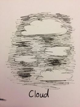 Inktober Day 19: Cloud by Panolli