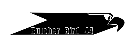 Butcher Bird 44 Gaming persona Logo by ColubrineDeuce
