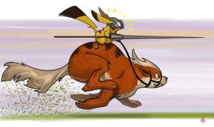 CHARGE!! by FUNKYMONKEY1945