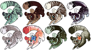 kitty designs - prices lowered! by awkwaard