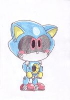 baby Metal Sonic by LeniProduction