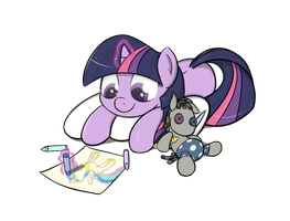 Commission: Filly Twilight by TheParagon