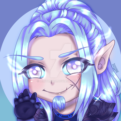YCH COMMISSION FINISHED ICON #5 by AimyMoon
