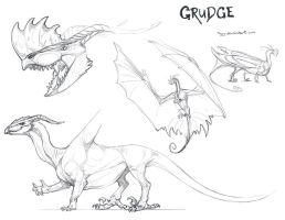 Grudge by Teggy