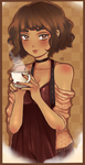 Have a cup of coffee by creampuffchan