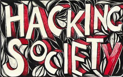 Moleskine XXIX - Hacking Society by Nakilicious