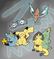PTS: Jen's Electric Types by Kageh