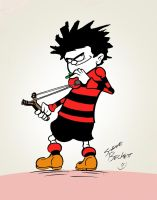 Dennis The MENACE by Steve3po
