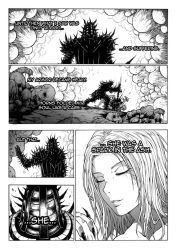 Thorn of hate - Dark Souls comic PAG 7 by thunderalchemist18