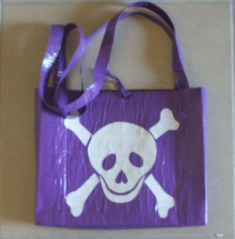 Duct Tape Bag 15 by ChelliChan
