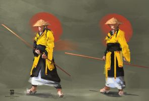 Monk by psdeluxe