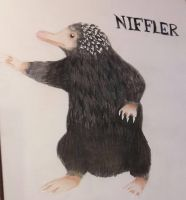 Niffler Fantastic Beasts by Lucy-chan90