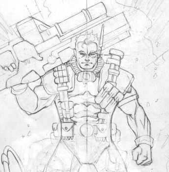 Cable doodle by aethibert