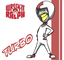 Wreck It Ralph_Turbo by PawFeather