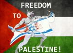 Freedom To Palestina by Svetoslawa