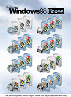 Vista-like Windows 98 Boxes by MTB-DAB