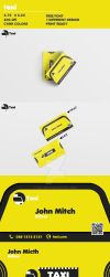 TAXI Business Card by Hasyemi12