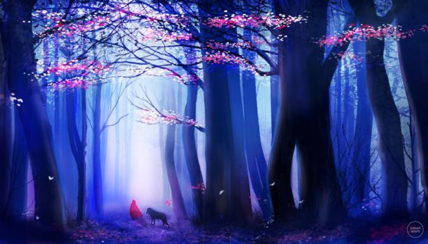 little red riding hood. by sugarmints