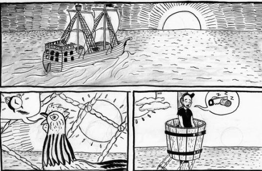 Pirate Comic Preview One by Angryviking
