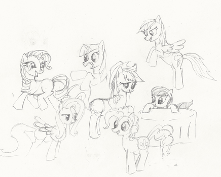 Just Some Sketches by Arctic-Lux