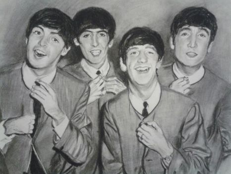 The Beatles! by TheNymphInYellow