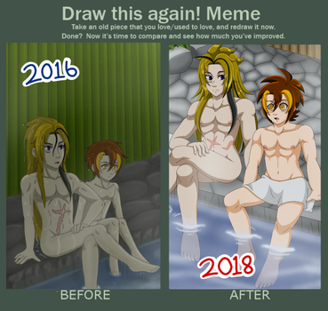 Before and After: Onsen by LilyandJasper
