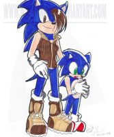 Jules and Sonic by NinjaHaku21