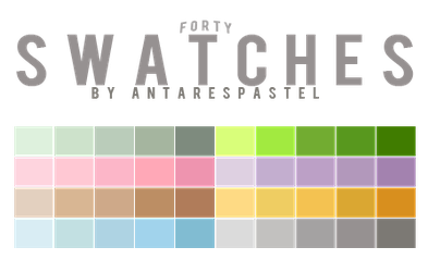 SWATCHES 001 by sttoneds