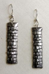 Woven Earrings by colmark-designs