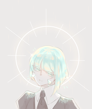 Hnk Oc - Mint Opal by Miyunn