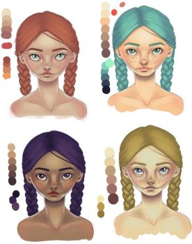 Skin Colors Test by Salomi1985