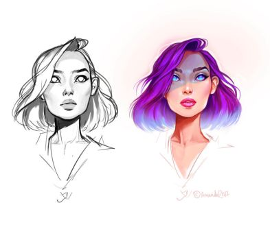Color experiment by Amanda-Kihlstrom