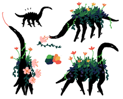 Nectar-feeders by Mossworm