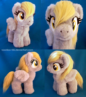 Derpy filly plushie - revised by Voodoo-Tiki