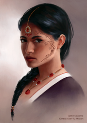 Nalini - Commission by Aliciane